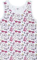 Купить Майка для девочки Let's Go, цвет: белый. 2148. Размер 86, Одежда для новорожденных