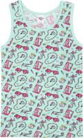 Купить Майка для девочки Let's Go, цвет: мятный. 2148. Размер 86, Одежда для новорожденных