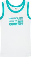 Купить Майка для мальчика Let's Go, цвет: белый. 2242. Размер 86, Одежда для новорожденных