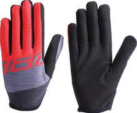 Купить Перчатки велосипедные BBB 2018 Racer , цвет: красный. Размер L, Велоперчатки
