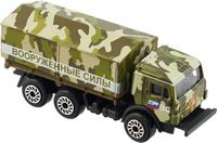 Купить ТехноПарк Модель автомобиля KAMAZ Вооруженные силы, Машинки