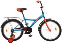 Купить Велосипед детский Novatrack Astra , цвет: синий, 20 , Велосипеды