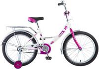Купить Велосипед детский Novatrack Urban , цвет: белый, 20 , Велосипеды