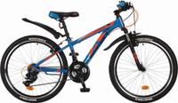 Купить Велосипед детский Novatrack Extreme , цвет: синий, 24 , рама 10 , Велосипеды