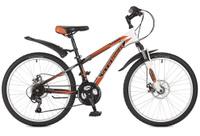 Купить Велосипед горный Stinger Caiman D , цвет: оранжевый, 24 , рама 12, 5 , Велосипеды