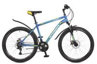 Купить Велосипед горный Stinger Element D , цвет: синий, 26 , рама 18 , Велосипеды
