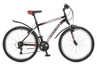 Купить Велосипед горный Stinger Element , цвет: черный, 26 , рама 14 , Велосипеды