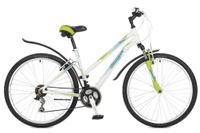 Купить Велосипед горный Stinger Element lady , цвет: белый, 26 , рама 15 , Велосипеды