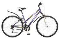 Купить Велосипед горный Stinger Element lady , цвет: фиолетовый, 26 , рама 17 , Велосипеды