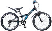 Купить Велосипед детский Novatrack Racer , цвет: черный, 24 , рама 10 , Велосипеды