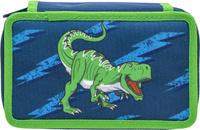 Купить Tiger Family Пенал Compact Collection цвет синий зеленый, Пеналы