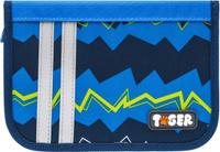 Купить Tiger Family Пенал Nature Quest Collection с наполнением цвет синий, Tiger Enterprise, Пеналы