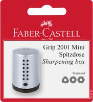 Купить Faber-Castell Точилка Grip 2001 мини цвет серый, Чертежные принадлежности