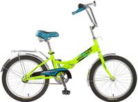 Купить Велосипед складной Novatrack FS20 , цвет: салатовый, 20 , Велосипеды