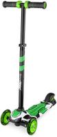 Купить Самокат детский Small Rider Turbo , трехколесный, со светящимися колесами, цвет: зеленый, Самокаты