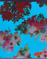 Купить Unnika Land Тетрадь DIY Collection Цветочное великолепие 48 листов в клетку цвет голубой, Тетради