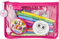 Купить Tiger Family Пенал Diy Series Collection цвет розовый, Tiger Enterprise, Пеналы