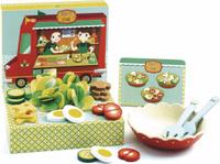 Купить Djeco Игровой набор Салаты Розет и Цезаря, Сюжетно-ролевые игрушки