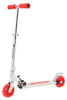 Купить Самокат детский Razor A125 , двухколесный, складной, цвет: красный, Самокаты