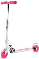 Купить Самокат детский Razor A125 , двухколесный, складной, цвет: розовый, Самокаты