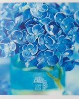 Купить Unnika Land Тетрадь Нежные букеты 48 листов в клетку цвет голубой, Тетради