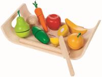Купить Plan Toys Игровой набор Фрукты и овощи, Сюжетно-ролевые игрушки