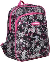 Купить Рюкзак детский Звезды цвет черный розовый 1661011, NoName, Ранцы и рюкзаки