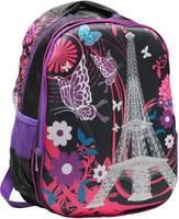Купить Рюкзак детский Города цвет розовый черный 2820266, NoName, Ранцы и рюкзаки