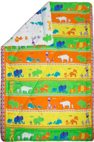 Купить Одеяло детское Mona Liza Зоопарк , зимнее, 140 х 205 см, Одеяла