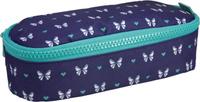 Купить Milan Пенал-косметичка Origami цвет темно-синий голубой, Пеналы