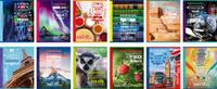 Купить BG Набор тетрадей Люблю Изучать 48 листов в клетку в линейку 12 шт, Тетради