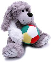 Купить Magic Bear Toys Мягкая игрушка Собака Шэлдон с мячом 23 см, Мягкие игрушки