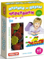 Купить Stellar Мозаика-пазлы Черепашки 01061, Обучение и развитие
