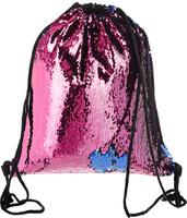 Купить TipTop Сумка с пайетками для сменной обуви и одежды Эмма цвет розовый синий, Nibgbo Baige Bags Co., Ltd, Ранцы и рюкзаки