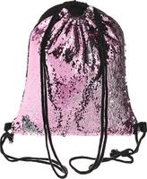 Купить TipTop Сумка с пайетками для сменной обуви и одежды Эмма цвет розовый серебристый, Nibgbo Baige Bags Co., Ltd, Ранцы и рюкзаки