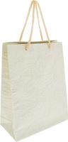 Купить Пакет подарочный Дизайнерский , 28 х 17 х 7 см. 2728081 цвет: молочный, Подарочная упаковка