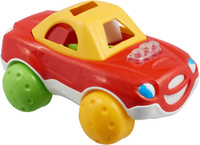 Купить Stellar Сортер Машинка красный, Развивающие игрушки
