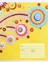 Купить Unnika Land Тетрадь Яркие аппликации 18 листов в линейку ТЛЛ185657_вид 3, Тетради