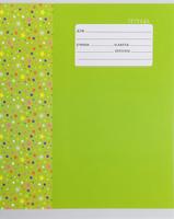 Купить Unnika Land Тетрадь Звездочки 18 листов в линейку цвет салатовый, Тетради