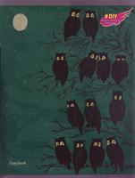 Купить Unnika Land Тетрадь DIY Collection Ночные прогулки Совы 48 листов в клетку ТКГ485925_вид 3, Тетради