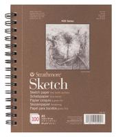 Купить Strathmore Альбом для зарисовок 400 Series 100 листов формат A5, Бумага и картон