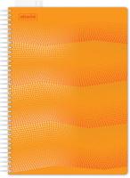 Купить Attache Тетрадь Waves 100 листов в клетку формат А4 цвет оранжевый, Тетради