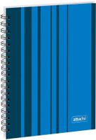 Купить Attache Тетрадь Сoncept 120 листов в клетку формат А5 цвет синий, Тетради