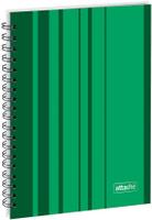 Купить Attache Тетрадь Сoncept 120 листов в клетку формат А5 цвет зеленый, Тетради