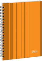 Купить Attache Тетрадь Сoncept 120 листов в клетку формат А5 цвет оранжевый, Тетради