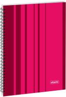 Купить Attache Тетрадь Сoncept 120 листов в клетку формат А4 цвет бордовый, Тетради