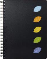 Купить Attache Тетрадь Office Creative 120 листов А4 цвет черный, Тетради