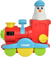 Купить Tomy Игрушка для ванной Веселый паровозик с мыльными пузырями, Первые игрушки