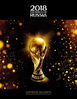 Купить FIFA-2018 Тетрадь со сменным блоком ЧМ по футболу 2018 Золотой кубок 240 листов, Тетради