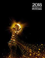 Купить FIFA-2018 Тетрадь со сменным блоком ЧМ по футболу 2018 Золотой кубок 120 листов, Тетради